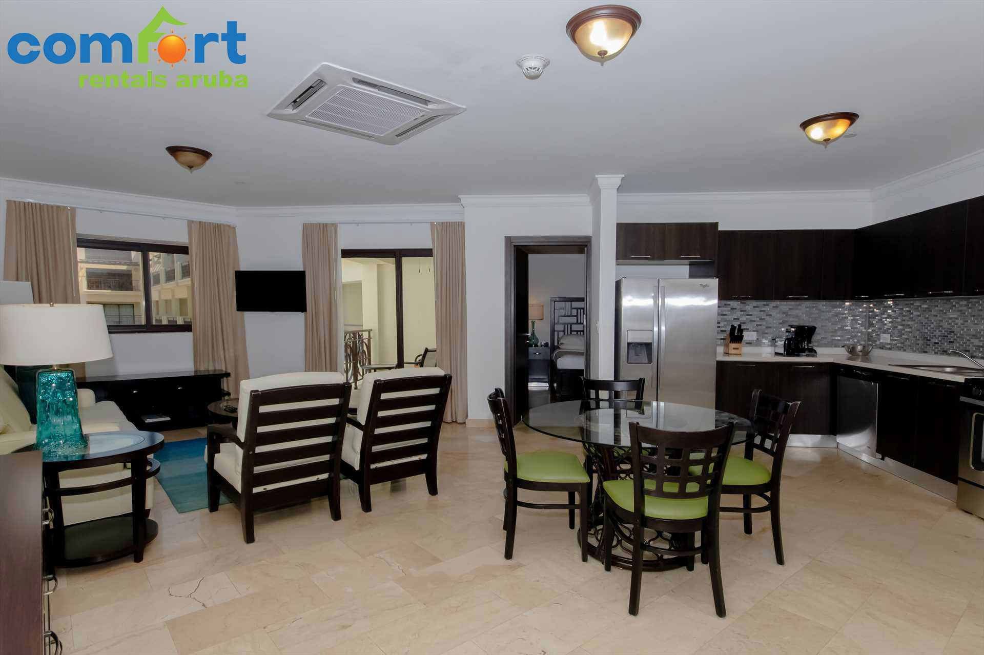 Banana Palm One Bedroom Condo Pc411 Comfort Rentals Aruba Aruba Vacation Rentals Aruba Accommodation Aruba Condo Rentals Aruba Resorts Aruba Villa Rentals